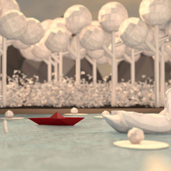 3D Papierboot Titelbild
