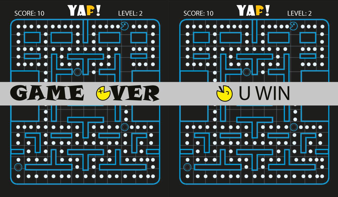 Game Ove und Gewonnen