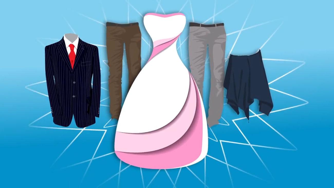 Kleider richtig zusammenlegen