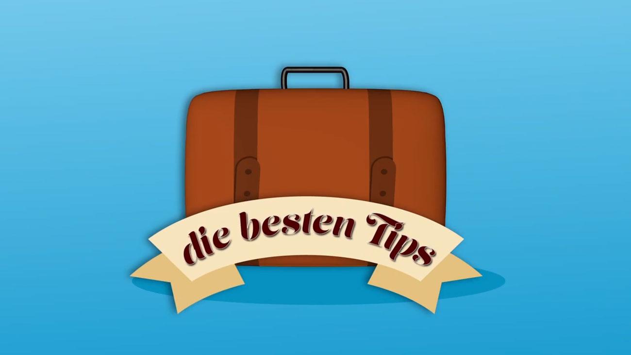 Tipps wie man seinen Koffer packt