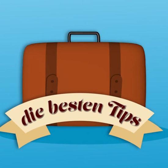 Die besten Tipps zum Koffer packen Titelbild