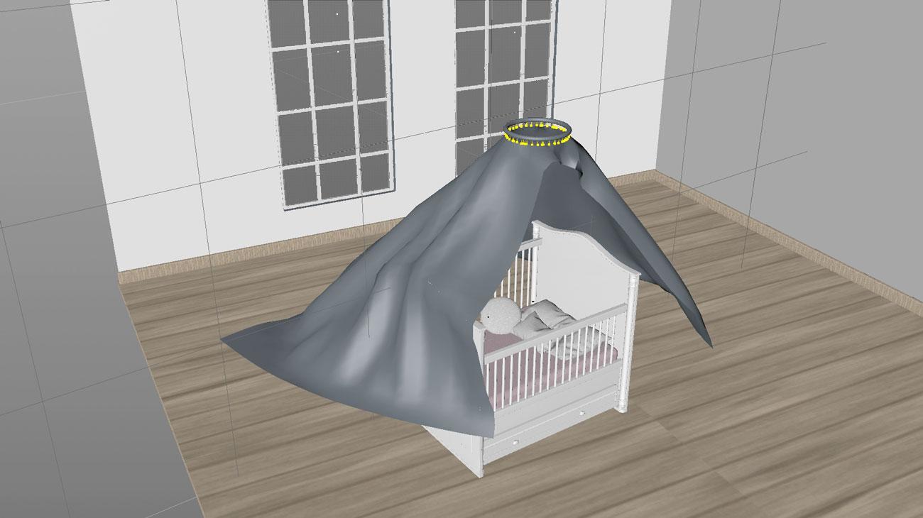 3D clothe simulation