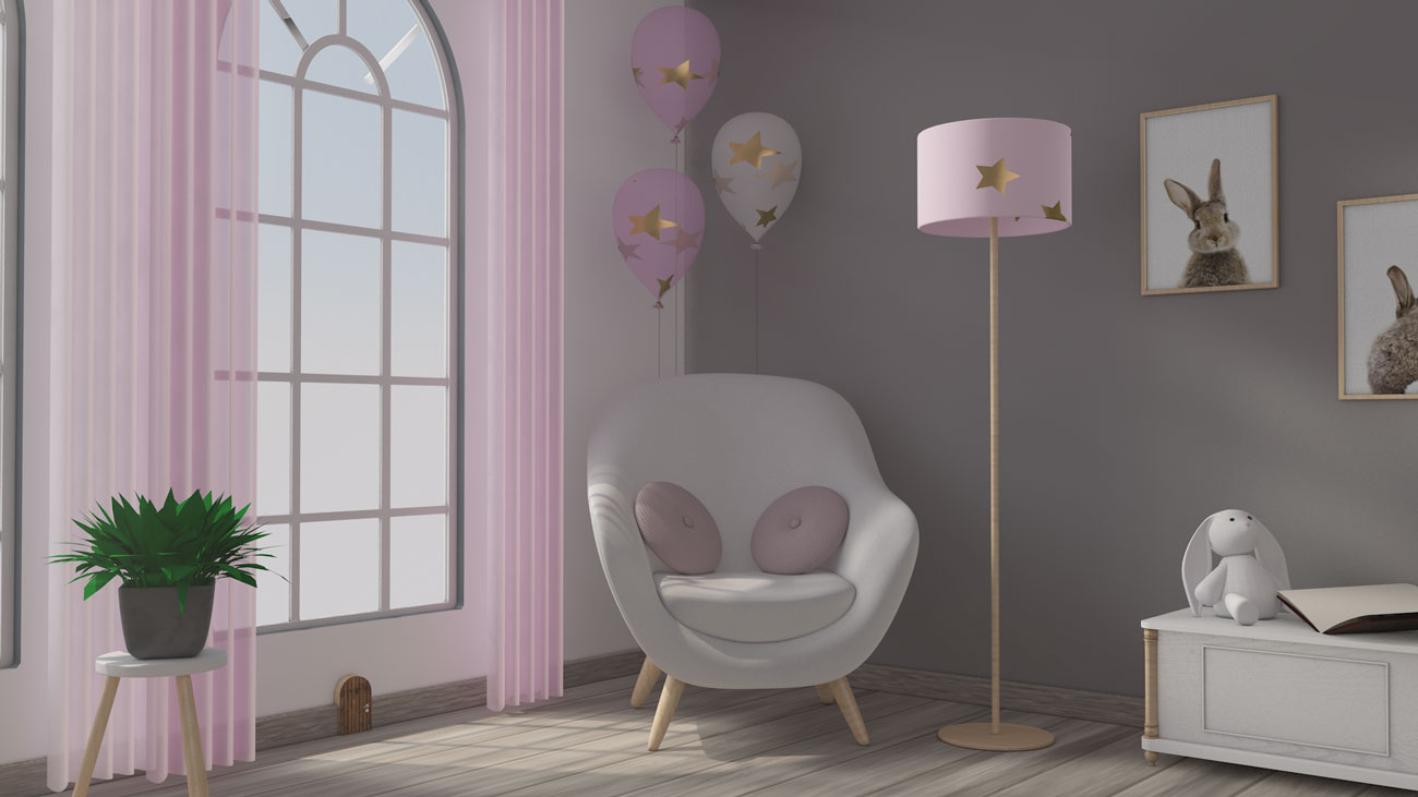 3D Kinderzimmer Sessel