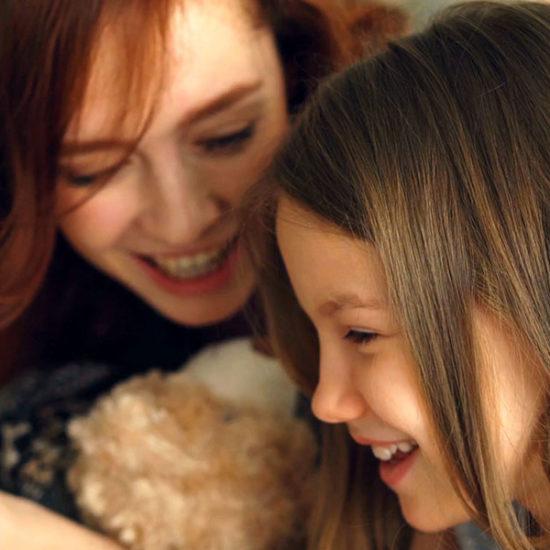 Mutter und Kind lernen Thumbnail