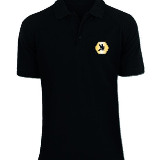 Shirt schwarz vorne mit Logo